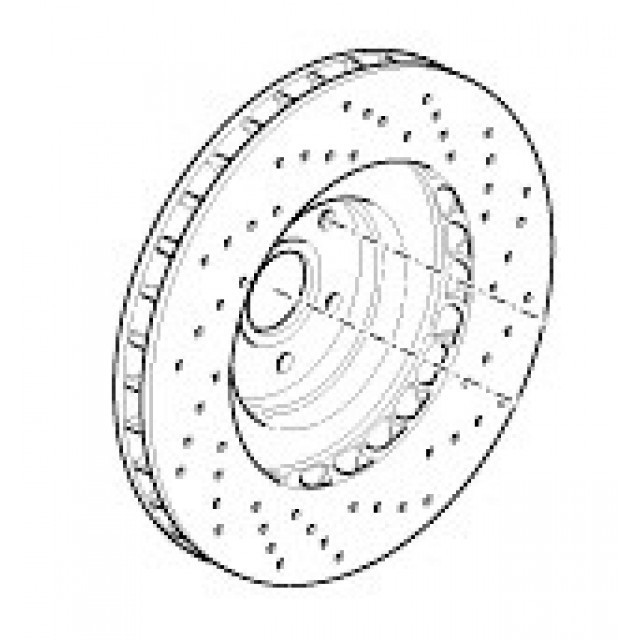 Rear brake disc SQ4
