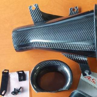 Carbon ram induction airfilter