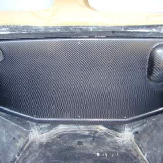 Carbon firewall trim