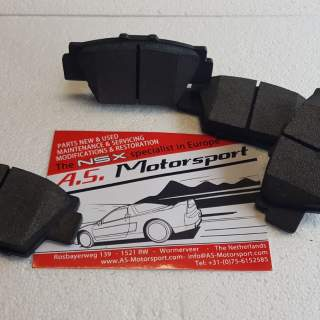 Sport brake pads front
