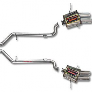 Performance Rear exhaust section