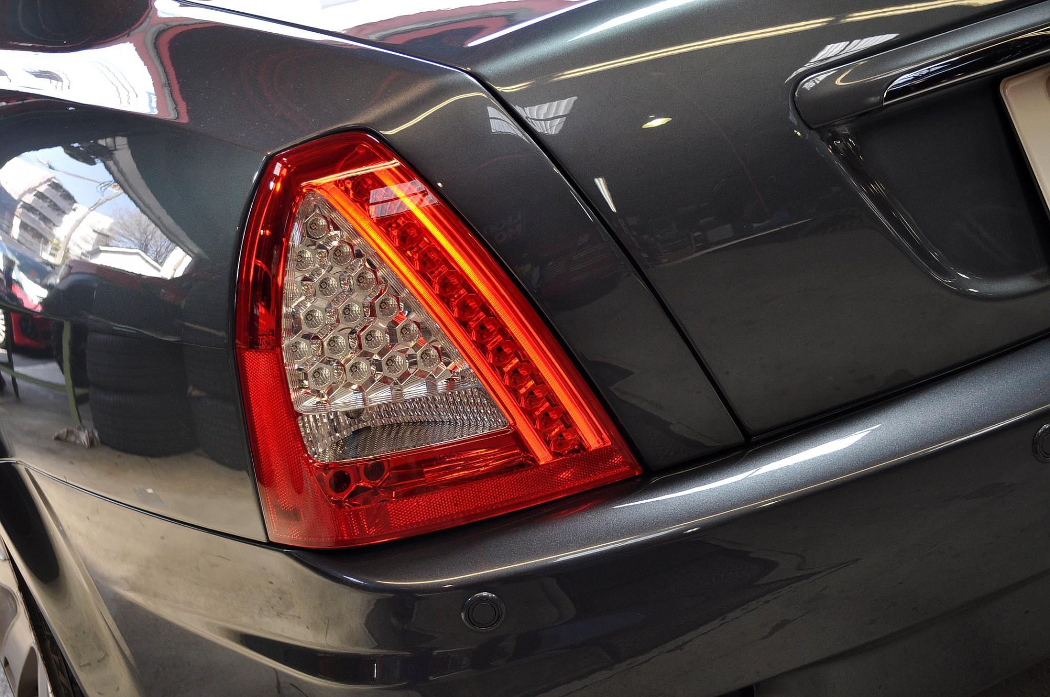 Led tail light pair exterior quattroporte